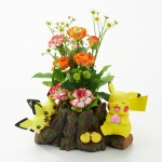 The series of Pokemon flower pot: Chilling in the forest with Pikachu