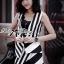 Lady Ribbon's Made Lady Eleonore Chic Bold Striped Set thumbnail 1