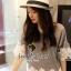 Love White Bloom Weave Top by Seoul Secret thumbnail 1