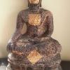 พระศิลาแลงอัด พระบุชาสมัยเชียงแสน ขนาดสูง 16 นิ้ว หน้าตักกว้าง 9 นิ้ว