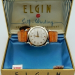 นาฬิกาเก่า ELGIN ออโตเมติก พร้อมกล่องและใบรับประกัน