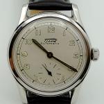 นาฬิกาเก่า TISSOT ออโตเมติกครึ่งรอบ สองเข็มครึ่ง