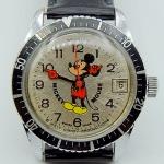นาฬิกาเก่า MICKEY MOUSE ไขลาน
