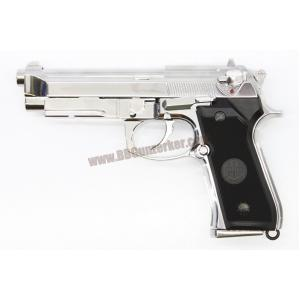 Beretta M9A1 สีเงิน (Full Auto) - Keymore (พร้อมกล่องพลาสติก)