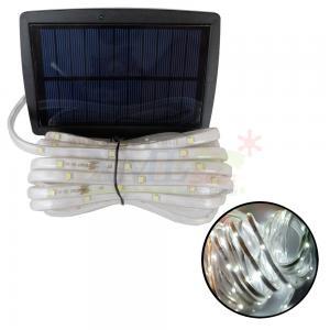 ไฟกระพริบโซล่าเซลล์ 100 CHIP SMD LED (3 ฟังก์ชั่น) (เเสง : ขาว)