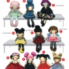 ผ้าพิมพ์ลาย เย็บตุ๊กตา Girly Gang