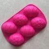 พิมพ์ซิลิโคน รูปไข่ 6 ช่อง