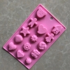 พิมพ์ซิลิโคน รูปหมี หัวใจ