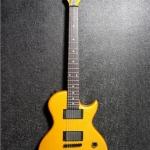 กีต้าร์ไฟฟ้า DERULO Les Paul (สีเหลือง/ขาว/ดำ )
