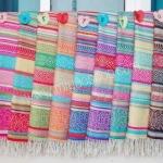 ผ้าพันคอ Pashmina พาสมีน่า ลาย ไทย PS1110T