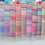 ผ้าพันคอ Pashmina พาสมีน่า ลาย ไทย PS1118T