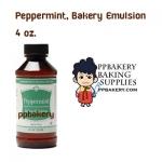 Peppermint, Bakery Emulsion 4 oz.