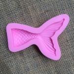 โมล พิมพ์ซิลโคน รูปหางปลา หางนางเงือก (เล็ก)