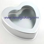 พิมพ์เค้ก ถอดก้น รูปหัวใจ ขนาด 3 ปอนด์ (8 นิ้ว)