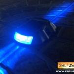 ไฟหมุดถนนโซล่าเซลล์ 6 LED (เเสง : ฟ้ากระพริบ)