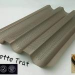 French Btead & Baguette Trat พิมพ์ขนมปังฝรั่งเศษ