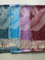 ผ้าพันคอ Pashmina พาสมีน่า ลาย ไทย PS02003T