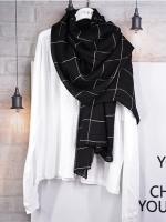 ผ้าคลุม อิสลาม วิสคอส viscose พิมพ์ลาย HJ07014