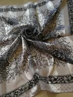 ผ้าพันคอ ผ้าคลุม ซาติน แก้ว บางๆ ST03-003