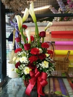 กระเช้าดอกไม้17