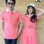 เสื้อคู่รักโปโลสีชมพูอมโอรส thumbnail 1
