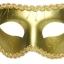 หน้ากากแฟนซีปาร์ตี้ขอบลูกไม้ ทอง thumbnail 1