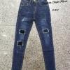 Jeans Style Korea กางเกงยีนส์ ขายาว ทรงเดป