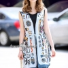 Machine Print Dress