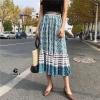 Skirt bohemian ผ้าเนื้อนิ่มพิมพืลายทั้งตัว