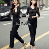 Luxury Jumpsuit Lace Fashion Style Korea