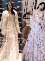 Luxury DG Stylish 3D Sakura Dress