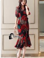 Cali Floral Summer Dress