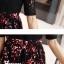 Dress คอปีน แขนศอก เนื้อผ้าลูกไม้ thumbnail 18