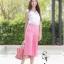 ชุดเซท เสื้อแมทซ์กับกางเกงขาบาน สีชมพูนมเย็น thumbnail 2