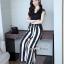 Stripe Lace Jumpsuit thumbnail 1