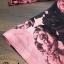 เดรสลายผ้าพิมพ์ดอกกุหลาบสีชมพูสลับสีดำทั้ thumbnail 10