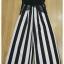 Stripe Lace Jumpsuit thumbnail 6