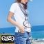 เซตเสื้อเข้าชุดกางเกงยีนส์ขายาวฟอกสีสวยมาก thumbnail 5