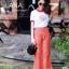 เสื้อยืดงานปักลิงลูกท้อรอบนี้จับแมทกางเกงลายไทย thumbnail 2