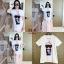 เสื้อยืด ผ้า Cotton 100% สกรีนลาย Chanel รุ่นเจาะคอ thumbnail 2