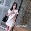 SET 2 ชิ้น : เสื้อ+กางเกง สีขาวสไตล์ เรียบหรู thumbnail 5