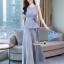 Fashionable sleeveless top long pants set thumbnail 7