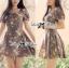 ( พร้อมส่ง) เดรสพิมพ์ลายดอกไม้สไตล์โรแมนติก ทรงชุดอันนี้ใส่แล้วดูหวาน เหมาะกับสาวหวานลุคคุณหนู ช่วงแขนเสื้อเป็นทรงแขนตุ๊กตา เข้ารูปช่วงเอว ชายกระโปรงบานนิดๆ ลายพิมพ์เป็นลายดอกไม้สไตล์วินเทจนิดๆ thumbnail 7