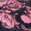 เดรสลายผ้าพิมพ์ดอกกุหลาบสีชมพูสลับสีดำทั้ thumbnail 11