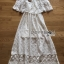 Molly Sweet Feminine Off-Shoulder White Lace Dress thumbnail 7
