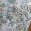 ชุดเดรสเกาหลี พร้อมส่งมิเดรสแขนกุดผ้าทูลล์ปักลายดอกไม้สีพาสเทล thumbnail 11