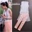 ( พร้อมส่ง) ชุดเซ็ตผ้าคลุมลูกไม้แขนกุดสีขาว มาพร้อมเสื้อซับอย่างดี เป็นเสื้อชีฟอง 100 % ส่วนกางเกงเป็นเนื้อผ้าสีชมพูเงา เนื้อผ้านิ่มเรียบลื่น มิกซ์แอนแมตกันได้อย่างลงตัว เข้าเซ็ตกับเสื้อสีขาวสวยมากค่ะ thumbnail 1