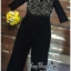 Luxury Jumpsuit Lace Fashion Style Korea thumbnail 7