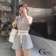 Set 2pcs เสื้อ+กางเกงขาสั้น Korea style น่ารักสุดๆคะ thumbnail 2