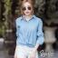 เสื้อเชิ้ตยีนส์ สไตล์เกาหลี thumbnail 2